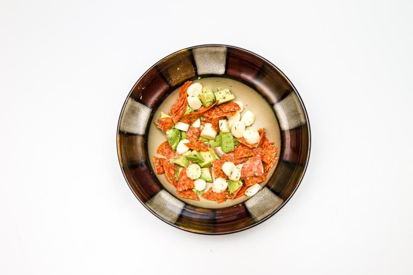Avocado, Pepperoni, Mozzarella StickSalad